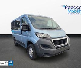 PEUGEOT BOXER WHEELCHAIR ACCESSIBLE 333 HDI 110 L FOR SALE IN MAYO FOR €22,995 ON DONEDEAL