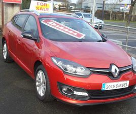 RENAULT MEGANE, 2015 FOR SALE IN WESTMEATH FOR €8,950 ON DONEDEAL