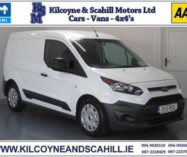 2017 FORD TRANSIT CONNECT 2 SEATER SWB FOR SALE IN MAYO FOR €9,960 ON DONEDEAL