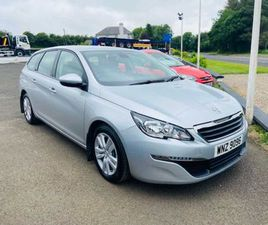 PEUGEOT 308, 1.2 PURETECH 110 ACTIVE 5DR 2016 FOR SALE IN DERRY FOR £7,000 ON DONEDEAL