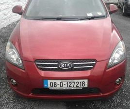 08 KIA CEED SPORT 3DR HATCH BACK FOR SALE IN TIPPERARY FOR €2,250 ON DONEDEAL