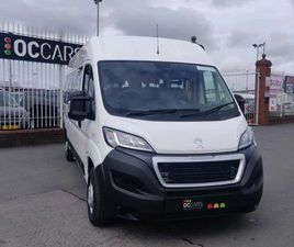 WHEELCHAIR ACCESSIBLE - PEUGEOT BOXER MINIBUS FOR SALE IN DUBLIN FOR €37,950 ON DONEDEAL
