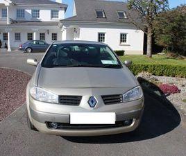 RENAULT MEGANE 16V CABRIOLET, 2005 FOR SALE IN TIPPERARY FOR €1,500 ON DONEDEAL
