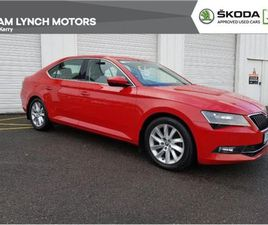 SKODA SUPERB STYLE 1.6TDI 120BHP 4DR FOR SALE IN KERRY FOR €19,950 ON DONEDEAL
