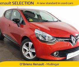 RENAULT CLIO DYNAMIQUE NAV 1.2 PETR 4D FOR SALE IN WESTMEATH FOR €9,950 ON DONEDEAL