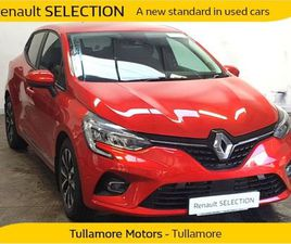 RENAULT CLIO ICONIC TCE 100 MY19 5DR FOR SALE IN OFFALY FOR €20,450 ON DONEDEAL