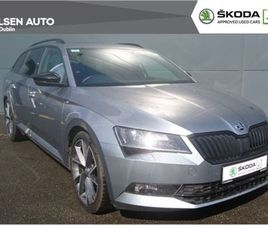 SKODA SUPERB COMBI SPORTLINE 2.0TDI 150HP DSG FOR SALE IN DUBLIN FOR €35,950 ON DONEDEAL