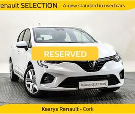 RENAULT CLIO V DYNAMIQUE TCE 100 MY19 5DR FOR SALE IN CORK FOR €17,890 ON DONEDEAL