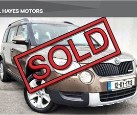 SKODA YETI SOLD SOLD SOLD SOLD SOLD FOR SALE IN CLARE FOR €11,000 ON DONEDEAL