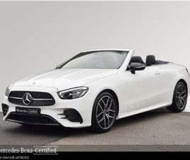 MERCEDES-BENZ E-CLASS 200P--AMG SPORT--CABRIOLET FOR SALE IN DUBLIN FOR €72,950 ON DONEDEA