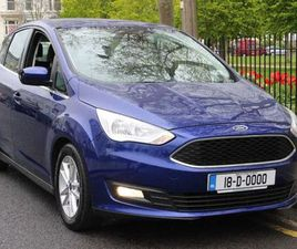 FORD C-MAX, 2018 1.0 ZETEC FOR SALE IN DUBLIN FOR €14,950 ON DONEDEAL