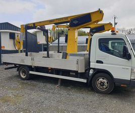 MITSUBISHI CANTER CHERRY PICKER FOR SALE IN ARMAGH FOR £12,750 ON DONEDEAL