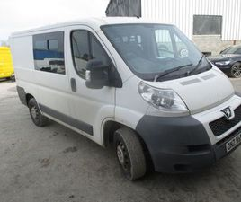 PEUGEOT BOXER 2011 CREW VAN FOR SALE IN DONEGAL FOR €3,650 ON DONEDEAL