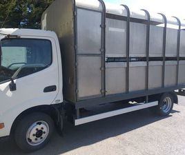 3.5 TON LIVESTOCK CARRIER TOYOTA DYNA FOR SALE IN MEATH FOR €19,995 ON DONEDEAL