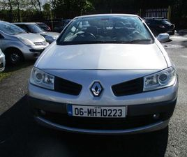06 RENAULT MEGANE 1.5 DSL CONVERTABLE LOW MLS NCT FOR SALE IN WEXFORD FOR €1,600 ON DONEDE