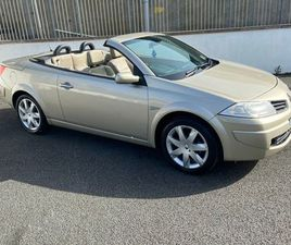 RENAULT MEGANE CONVERTIBLE 1.6 PETROL 2006 NCT8/22 FOR SALE IN DUBLIN FOR €1,950 ON DONEDE