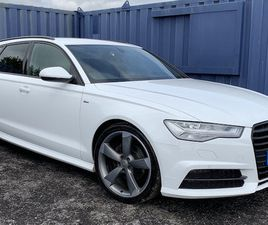 2016 AUDI A6 ULTRA SLINE BLACK EDITION FOR SALE IN DERRY FOR £13,995 ON DONEDEAL