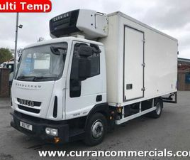 2010 IVECO 7.5T MULTI TEMP FRIDGE WITH TAIL LIFT FOR SALE IN ARMAGH FOR €1 ON DONEDEAL