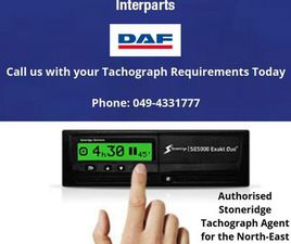 STONERIDGE DIGITAL TACHOGRAPHS SUPPLIED & FITTED FOR SALE IN CAVAN FOR €1 ON DONEDEAL