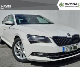 SKODA SUPERB STYLE 1.6TDI 120BHP LIKE NEW FOR SALE IN CLARE FOR €19,500 ON DONEDEAL