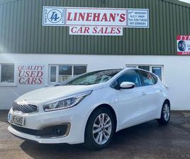 2018 KIA CEED DIESEL, HIGH SPEC, ONLY 46K FOR SALE IN CORK FOR €16,500 ON DONEDEAL