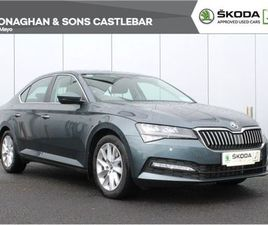 SKODA SUPERB DSG AUTO HIGH SPEC INCL LED HEADL FOR SALE IN MAYO FOR €31,900 ON DONEDEAL