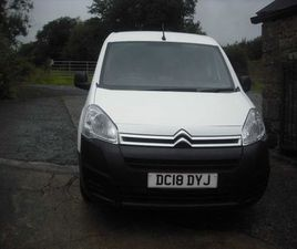 CITROEN BERLINGO, 2018 FOR SALE IN TYRONE FOR £8,495 ON DONEDEAL