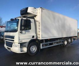 2012 DAF CF75 310 6X2 26 TON FRIDGE OR CHASSIS CAB FOR SALE IN ARMAGH FOR €1 ON DONEDEAL