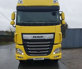 2018 - DAF XF 106 FOR SALE IN OFFALY FOR €1 ON DONEDEAL