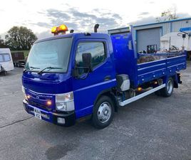 SOLD. 2015 MITSUBISHI CANTER 7.5 TON TIPPER TRUCK FOR SALE IN ARMAGH FOR £9,500 ON DONEDEA