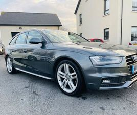 2015 AUDI A4 AVANT SLINE AUTO FOR SALE IN DOWN FOR £8,995 ON DONEDEAL