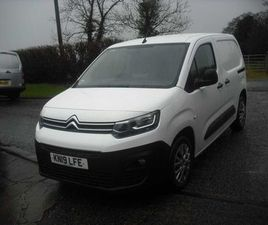 CITROEN BERLINGO, 2019 FOR SALE IN TYRONE FOR £10,995 ON DONEDEAL