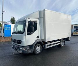 2011 DAF LF 45 160 7.5 TON MEAT RAIL FRIDGE FOR SALE IN ARMAGH FOR €1 ON DONEDEAL