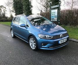 VOLKSWAGEN GOLF PLUS GT 2 LTR TDI AUTO 150 BHP NEW FOR SALE IN LEITRIM FOR €14,500 ON DONE