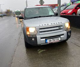 LAND ROVER DISCOVERY COMMERCIAL DOE 25/6/21 FOR SALE IN DUBLIN FOR €4,900 ON DONEDEAL