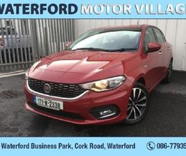 FIAT TIPO NCT 1.6D LOUNGE 4DR FOR SALE IN WATERFORD FOR €12,495 ON DONEDEAL
