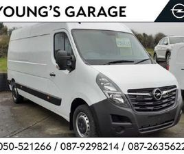 OPEL MOVANO L3H2 LWB VAN 2.3CDTI 135PS NOW WITH 0 FOR SALE IN TIPPERARY FOR €26,100 ON DON