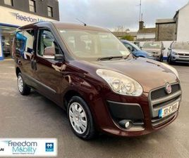 FIAT DOBLO WHEELCHAIR ACCESSIBLE PETROL FOR SALE IN MAYO FOR €9,950 ON DONEDEAL