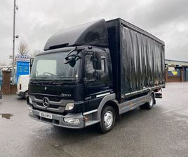 2013 MERCEDES ATEGO 12 TON ON AIR 17FT CURTAINSIDE FOR SALE IN ARMAGH FOR €1 ON DONEDEAL