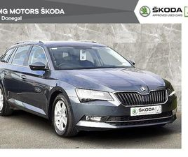 SKODA SUPERB COMBI 1.6TDI 120BHP AMBITION 2 YEAR FOR SALE IN DONEGAL FOR €23,900 ON DONEDE