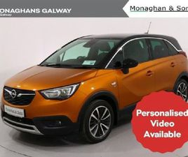 OPEL CROSSLAND X SE 1.2I 82PS 5DR FOR SALE IN GALWAY FOR €16,995 ON DONEDEAL