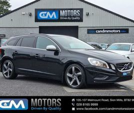 VOLVO V60 D2 [115] R DESIGN 5DR*NO BREXIT LEVY* FOR SALE IN TYRONE FOR £7,495 ON DONEDEAL