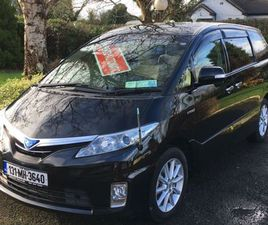 TOYOTA ESTIMA, 8 SEATER 4WD HYBRID SYNERGY DRIVE FOR SALE IN MEATH FOR €19,650 ON DONEDEAL
