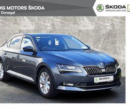 SKODA SUPERB 1.6TDI 120BHP STYLE 2 YEAR WARRANTY FOR SALE IN DONEGAL FOR €23,900 ON DONEDE