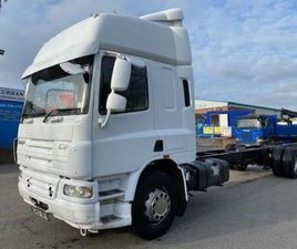 07 DAF CF 65 280 4X2 ON AIR 18TON 30FT CHASSIS CAB FOR SALE IN ARMAGH FOR €1 ON DONEDEAL