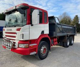 2010 SCANIA P380 6X4 TIPPER FOR SALE IN TYRONE FOR €1 ON DONEDEAL