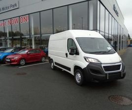 PEUGEOT BOXER MWB L2H2 140BHP FOR SALE IN DUBLIN FOR €23,830 ON DONEDEAL