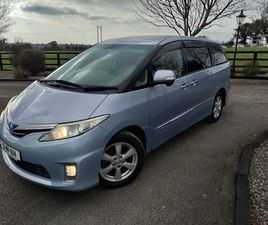 TOYOTA ESTIMA SELF CHARGING HYBRID 7 SEATER FOR SALE IN MEATH FOR €19,950 ON DONEDEAL