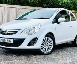 VAUXHALL CORSA 2011 EXCITE 1.3CDTI (75PS) ECOFLEX FOR SALE IN MEATH FOR €4,999 ON DONEDEAL