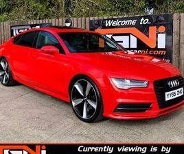 DEC 2015 AUDI A7 3.0 TDI QUATTRO 272 BLACK EDITION FOR SALE IN DERRY FOR £20,995 ON DONEDE